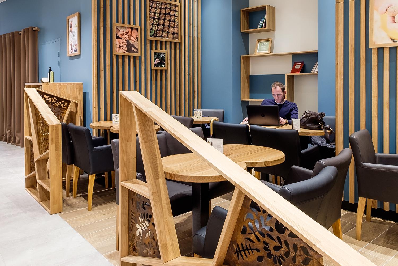 aménagement espace café