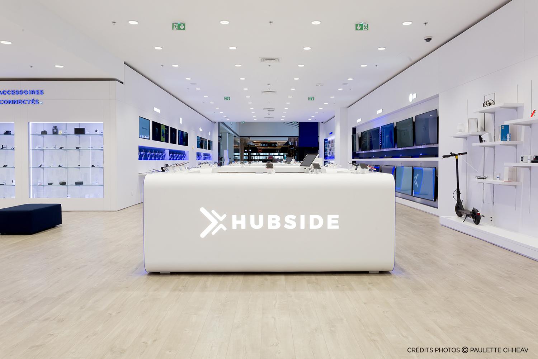 déploiement du concept d'aménagement des boutiques hubside